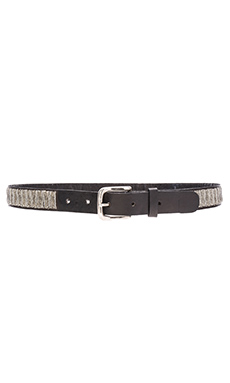 Full Beaded Belt en Argent