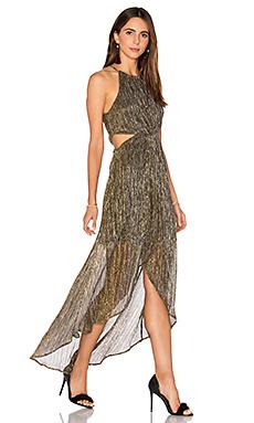Veda Dress in Metallic Multi