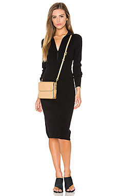 ROBE PULL ZIP MOCK NECK