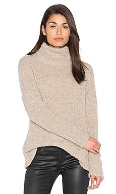 Amaya Turtleneck Sweater in Beige