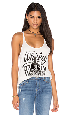 DÉBARDEUR DOS NAGEUR WHISKEY DRINKIN WOMAN