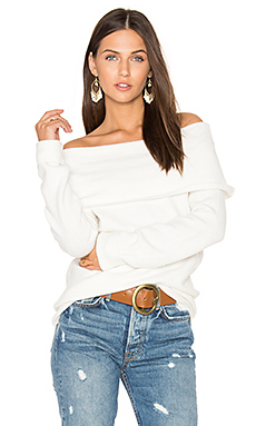Wild Night Sweater in Cream
