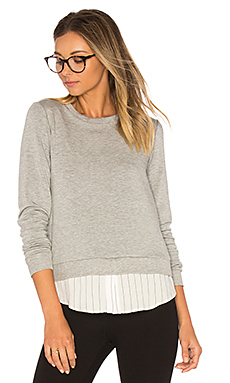 Soft Shackel Sweatshirt en Gris Chiné