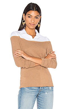 Alicia Sweater Top en Camel