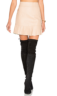 Frayer Skirt in Nude