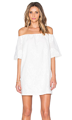 Manda Dress in White