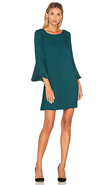 Jack By BB Dakota Lulani Mini Dress in Juniper Green
