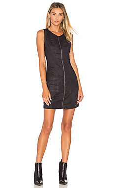 Jack By BB Dakota Marceline Faux Suede Mini Dress in Black