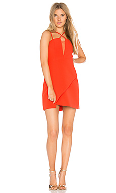 Linzee Dress in Bright Red