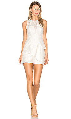 Daegan Dress in Off White