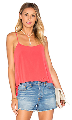 Tank in Bright Coral