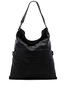 Messenger Shoulder Bag en Noir