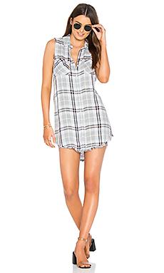 Frayed Hem Hipster Dress – 棕榈峡谷