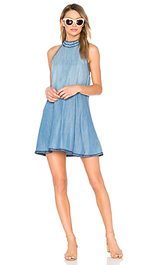 Halter Mini Dress in Canyon Springs Wash