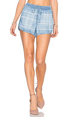 Sporty Short – Tiki Stripe Wash