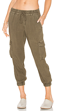 Flap Cargo Jogger in Pine