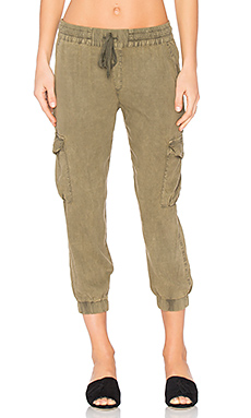 Flap Pocket Cargo Jogger – 丁香