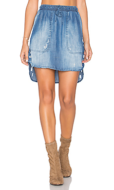 JUPE MINI DISTRESSED
