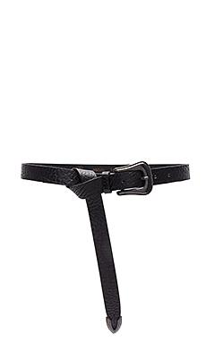Taos Mini Belt en Black & Old Iron