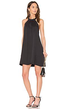 BLACK 梭织吊带连衣裙