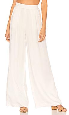BLACK Modal Twill Wide Leg Pant – 白色