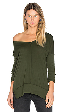 Light Weight Jersey V Neck Tunic – Mistletoe