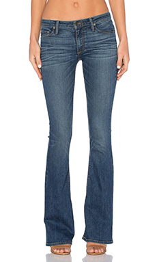 JEAN SKINNY FLARE TAILLE MOYENNE MIA