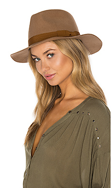 Indiana Fedora in Tan & Bronze