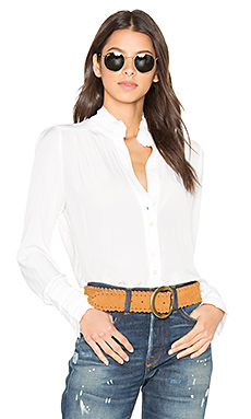 Be Like That Blouse en Blanc