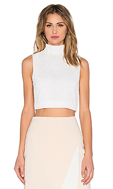 Stay Close Top en Ivory