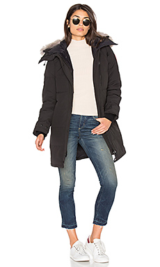Shelburne Parka with Coyote Fur Trim – 黑色