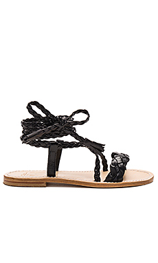 Faito Sandal in Black
