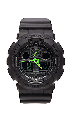 GA-100 Neon Highlights en Black/Green