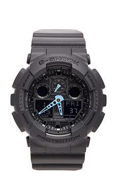GA-100 Neon Highlights en Noir/Bleu