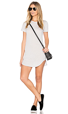 Adelise T Shirt Dress in Heather Grey