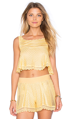 TOP CROPPED MAILLE CROCHET JOSEFA