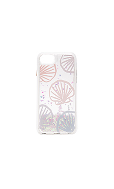 COQUE POUR IPHONE 7 À PAILLETTES SEASHELL SCAPE