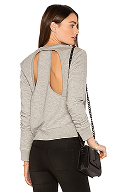 Swift Sweatshirt in Grey Melange