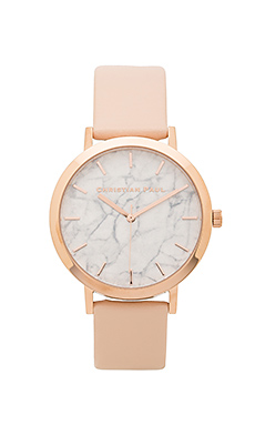 Bondi Marble 43mm en Rose Gold & Peach