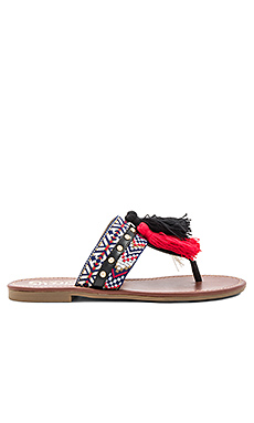 Brice Sandal in Black Multi