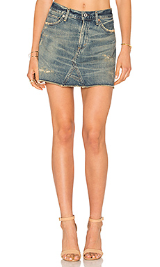 Cut Off Mini Skirt – Greenpoint