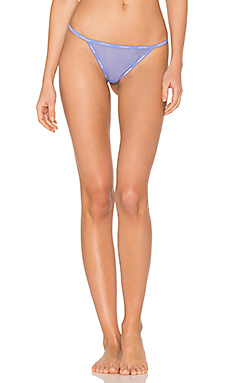 Sheer Marq Thong en Tranquil Blue