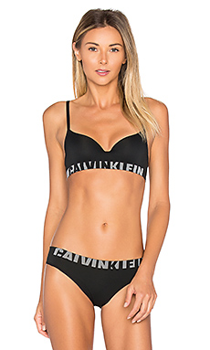 Seamless Logo Demi Multiway Bra in Black