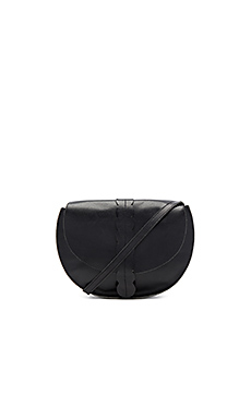 Scalloped Luce Supreme Bag in Black