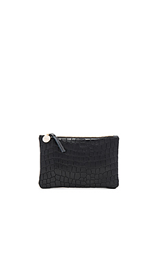 Wallet Supreme Clutch en Black Tile Croco