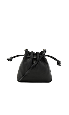 Petit Henri Maison Bag in Black Nappa