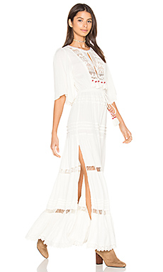 Regent Maxi Dress in Ivory