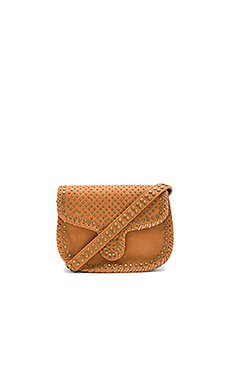 Phoebe Medium Crossbody Bag – 棕黄色