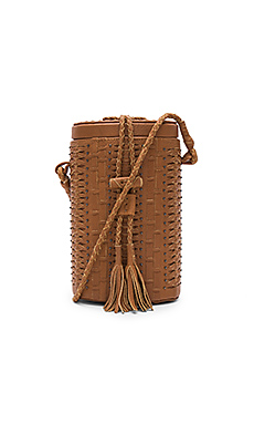 Crosstown Bucket Bag in Tan