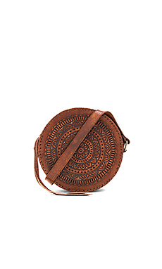 Paxton Circle Bag en Fauve